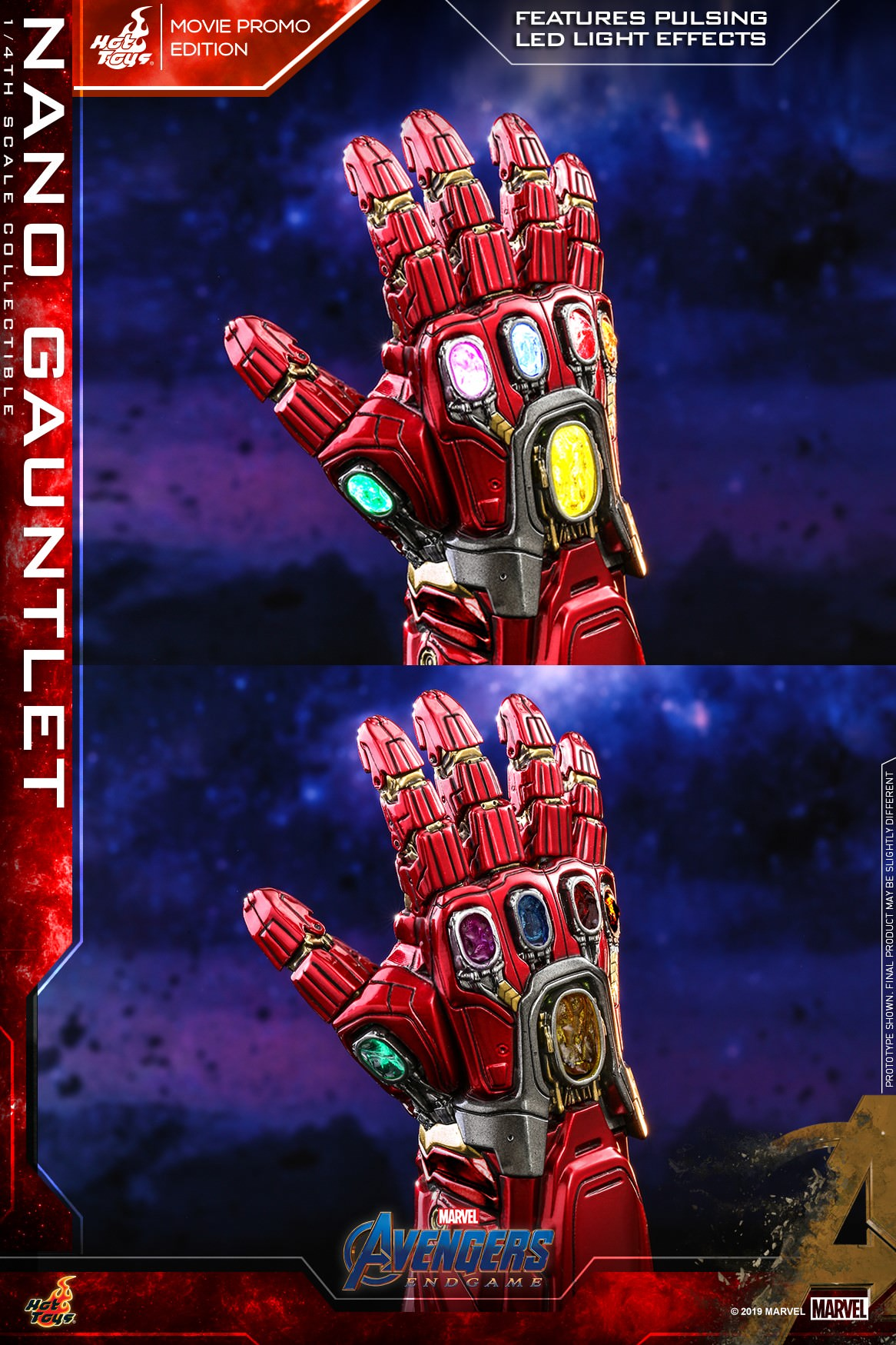 Hot Toys ACS 8 Avengers : Endgame – Nano Gauntlet (Movie