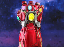 Marvel Avengers Endgame Nano Gauntlet Movie Promo Quarter Scale