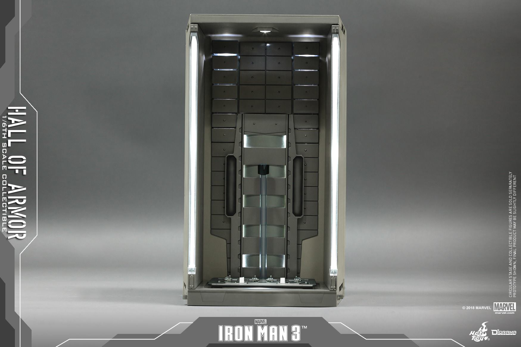 Hot Toys DS 01 Iron Man 3 : Hall of Armor – Hot Toys Complete Checklist