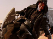 Star Wars I Darth Maul w/ Sith Speeder One Sixth Scale Figure