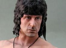 Hot Toys HTB 01 Rambo III 1:4 Scale Bust