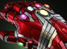 Marvel Avengers Endgame Nano Gauntlet Hulk Version Life-size