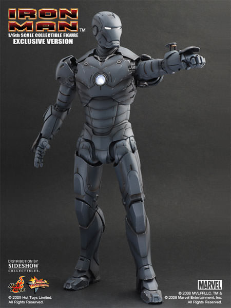 Hot Toys Mms 101 Iron Man Mark Iii Gunmetal Hot Toys Complete
