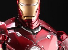 Hot Toys MMS 110 Iron Man - Mark III (Battle Damaged Version)