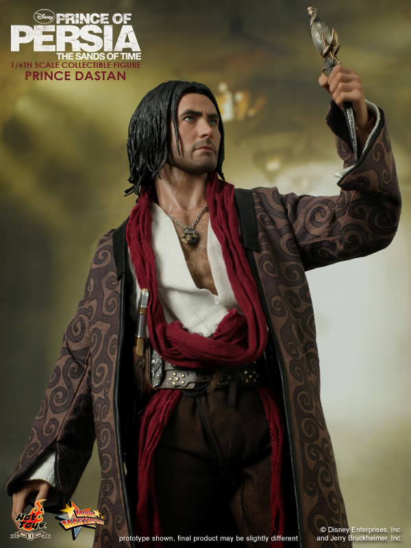 Hot Toys MMS 127 Prince of Persia : The Sands of Time – Prince