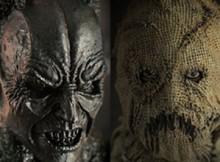 Hot Toys MMS 140 Batman Begins - Batman Demon & Scarecrow