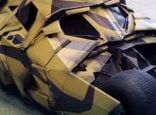 Hot Toys MMS 184 TDK Rises - Tumbler (Camouflage Version)
