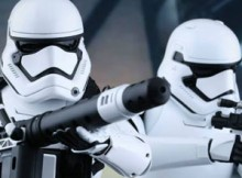 Hot Toys MMS 319 Star Wars : TFA - FO Stormtrooper Set