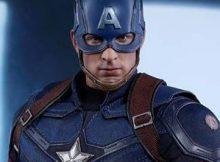 Hot Toys MMS 360 Captain America : Civil War - Battling Version