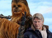 Hot Toys MMS 376 Star Wars : TFA – Han Solo & Chewbacca