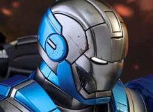 Hot Toys MMS 391 Iron Man 3 - Marx XXX Blue Steel