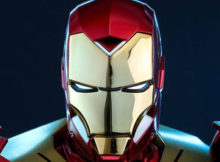 Hot Toys MMS 396 Iron Man 3 - Mark XV Sneaky Armor (Retro Version)