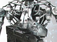 Hot Toys MMS 40 The Terminator - Endoskeleton (Battle Damaged Version)