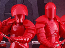 Star Wars The Last Jedi Praetorian Guard w/ Heavy Blade Sixth Scale Figure