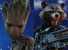 Marvel Avengers Infinity War Groot & Rocket Figures