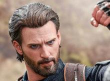 Marvel Avengers Infinity War Captain America Figure