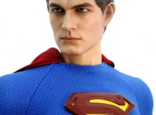 Hot Toys MMS 50 Superman Returns - Superman / Clark Kent (2 in 1 version)