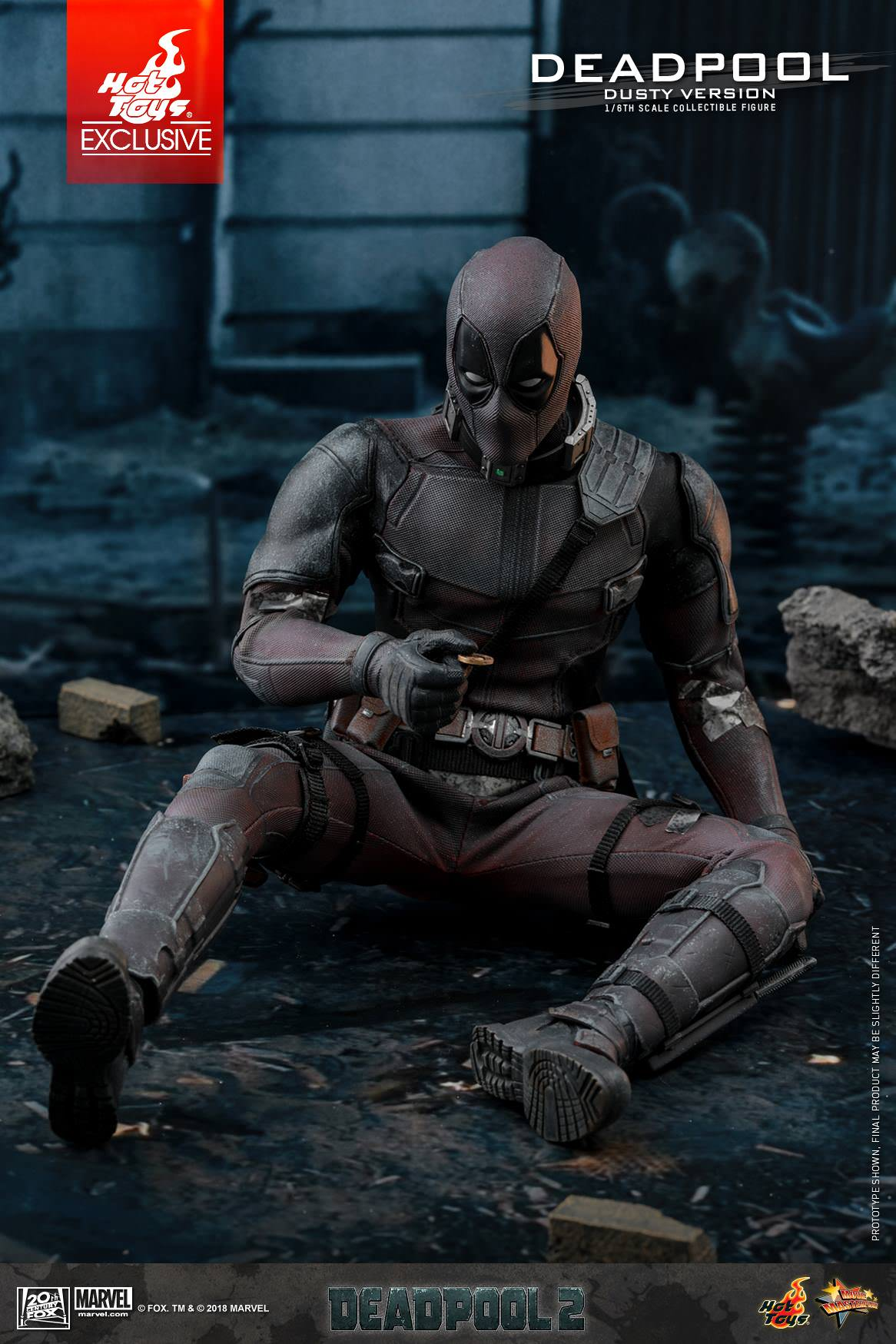 Hot Toys MMS 505 Deadpool 2 (Dusty Version) – Hot Toys