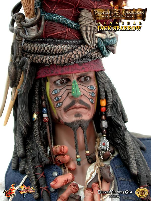 Hot Toys MMS 57 POTC 2: Dead Man's Chest – Cannibal Jack Sparrow