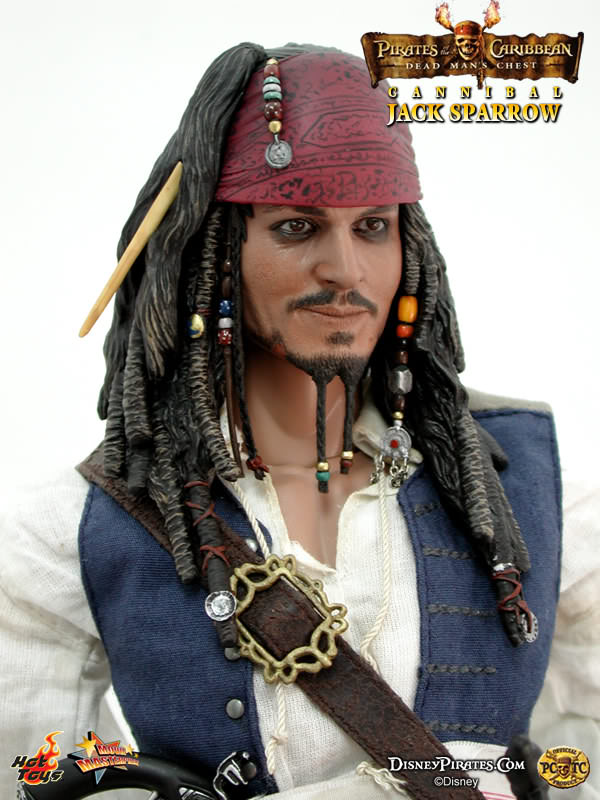 Hot Toys MMS 57 POTC 2: Dead Man's Chest – Cannibal Jack