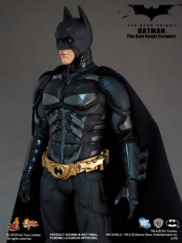 ... stands approximately 32 cm tall featuring Hot Toys figure body with over 32 points of articulation and the complex and new The Dark Knight Batman suit. & Hot Toys MMS 71 TDK u2013 Batman (The Dark Knight Costume) u2013 Hot Toys ...