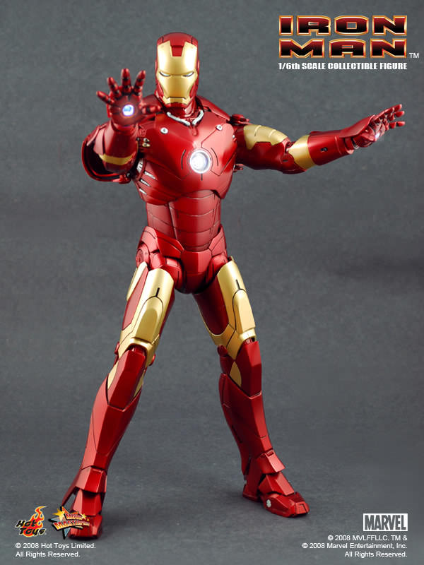 Hot Toys MMS 75 Iron Man – Mark III – Hot Toys Complete
