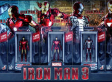 Marvel Iron Man 3 Hall of Armor