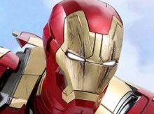 Hot Toys QS 07 Iron Man 3 - Mark XLII