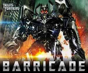 Barricade Transformers Statue