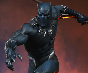 Black Panther Marvel Statue