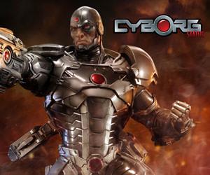 Cyborg DC Comics Statue