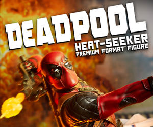 Deadpool Heat-Seeker Marvel Premium Format(TM) Figure