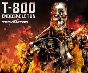 T-800 Endoskeleton The Terminator Terminator Statue