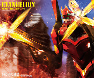 EVA Production Model-02 Neon Genesis Evangelion Statue