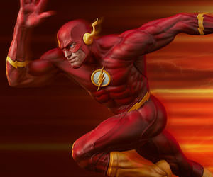 SThe Flash Premium Format