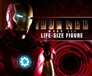 Iron Man Mark III Marvel Life-Size Figure