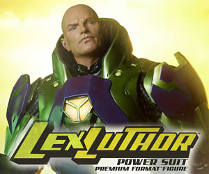 Lex Luthor - Power Suit DC Comics Premium Format(TM) Figure