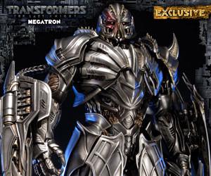 Megatron Transformers Statue