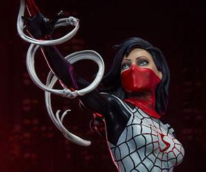 Silk Marvel Statue