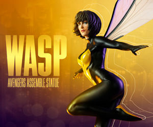 Wasp Marvel Statue