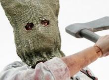 Hot Toys VGM 05 Resident Evil : Biohazard - Chainsaw Killer