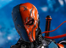 DC Comics Batman Arkham Origins Deathstroke One Sixth Scale Figure