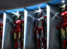 Iron Man 3 Hall of Armor One Sixth Scale