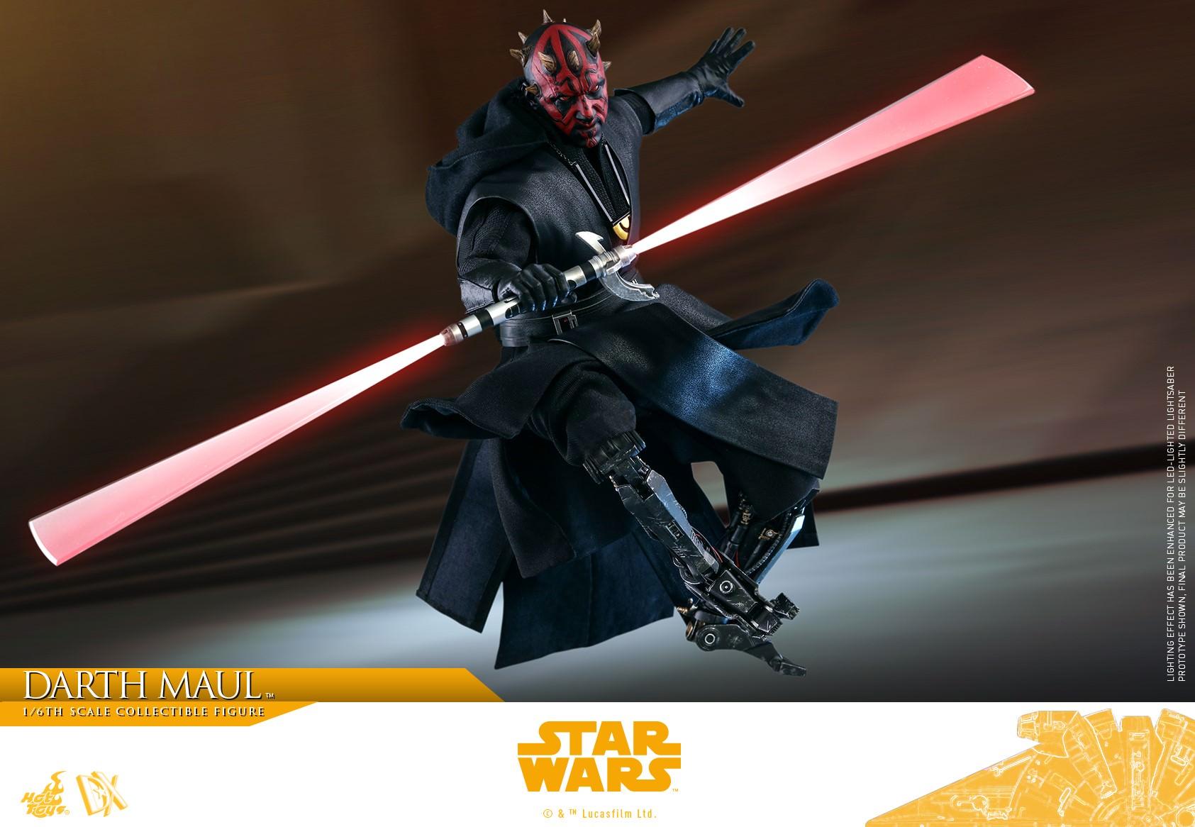Darth Maul aus dem Film Star Wars Episode I von Hot Toys