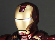 Hot Toys HTB 08 Iron Man 2 Mark VI