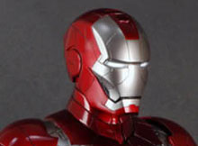 Hot Toys HTB 09 Iron Man 2 Mark V