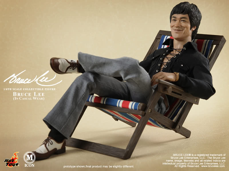1:6 Bruce Lee In Casual Wear HOT TOYS Hands #02