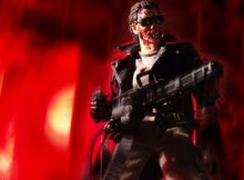 Hot Toys MMS 02 The Terminator Battle Damaged