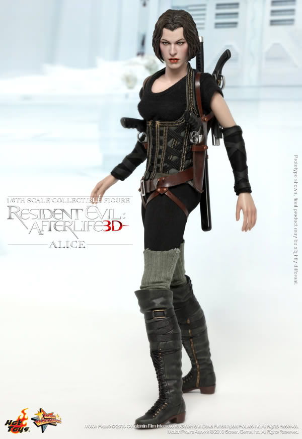 Hot Toys Mms 139 Resident Evil Afterlife Alice Hot Toys Complete Checklist