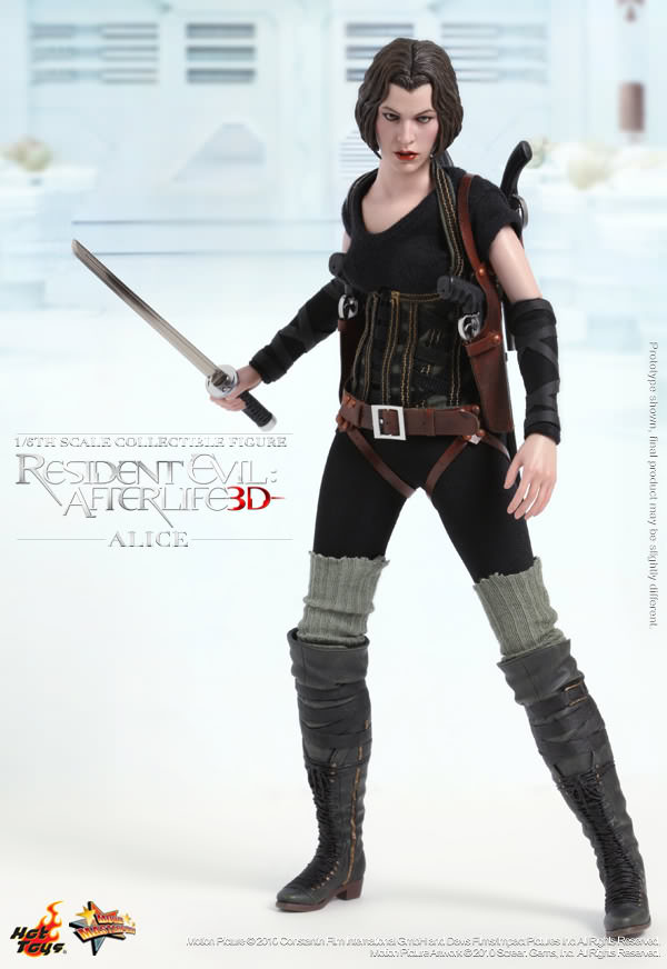 Hot Toys Mms 139 Resident Evil Afterlife Alice Hot Toys